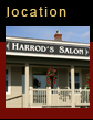 Where is Harrod's Salon?